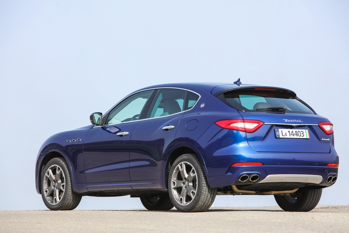 Essai Maserati Levante Le Suv Version Latine