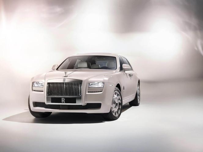 Pékin 2012 : Rolls Royce Ghost Six Senses concept