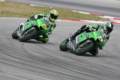 Moto GP: Burgess en pince pour les verts