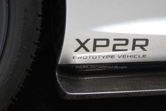 Surprise : une McLaren P1 étrange, la XP2R
