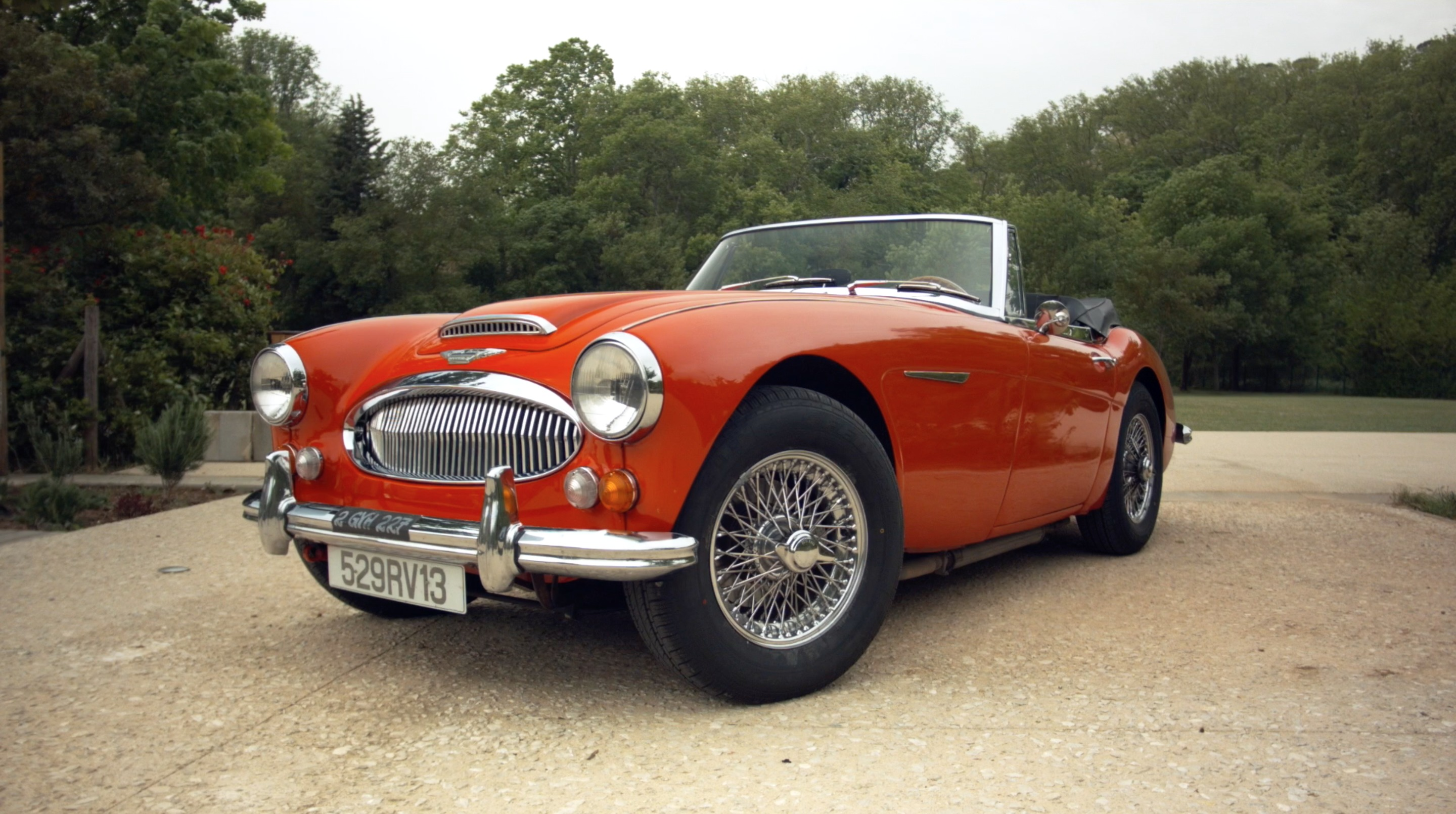 vid o la minute du propri taire austin healey 3000 mk3. Black Bedroom Furniture Sets. Home Design Ideas
