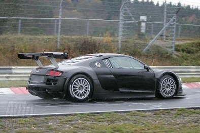 L'Audi R8 GT3 en test sur le Nürburgring