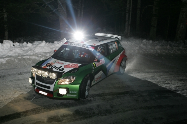IRC Monte-Carlo - ES1 et 2 : Hirvonen et Ogier au coude-à-coude