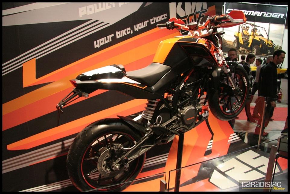 Salon de Milan 2010 en direct : KTM Duke 125