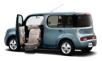 """Nouveau Nissan Cube: """"chacun son histoire"""""""