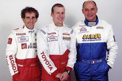 Toyota au Trophée Andros avec Prost et Panis