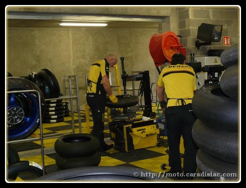 24 H du mans en direct : Tout sur les pneus