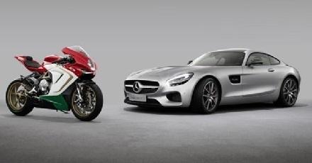 Economie: Mercedes entre dans le capital de MV Agusta