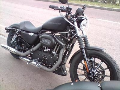 Harley-Davidson 883 Iron: Essai d'un Iron plus carré