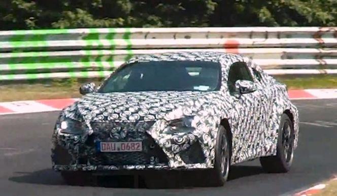 Surprise en vidéo - Lexus RC F : V8 ou V6 ?