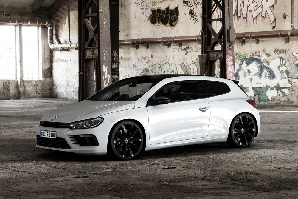 volkswagen scirocco r black style des touches de noir rien de plus. Black Bedroom Furniture Sets. Home Design Ideas