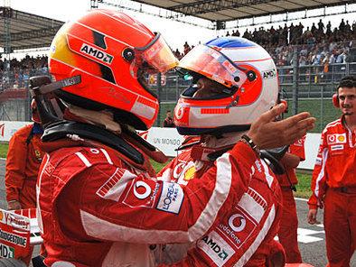 Formule 1 - Ferrari: Schumi répond à Rubens