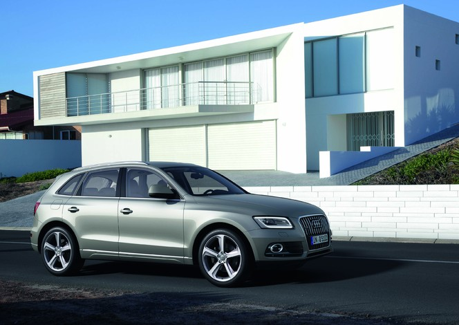 Audi Q5 restylé : nettoyage de printemps