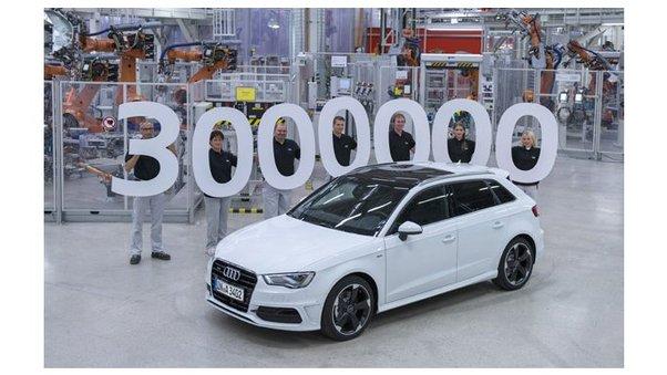 3 millions d'Audi A3 dans la nature!