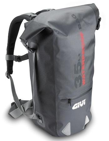 Givi TW03 : nouveau sac à dos waterproof