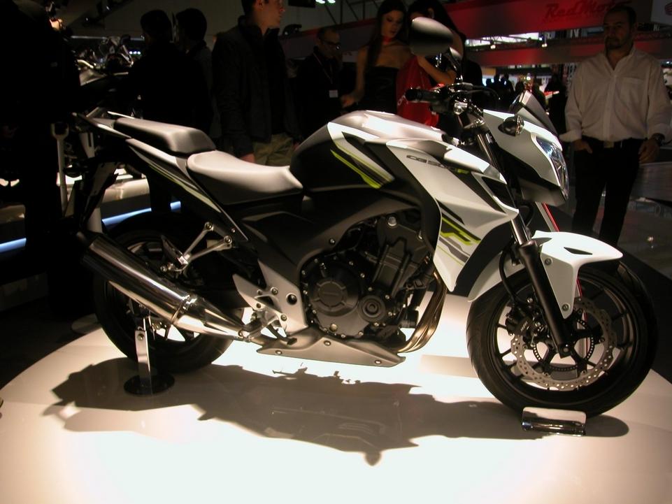 En direct de l'EICMA : Honda CB 500 F