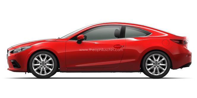 Hypothèse : une Mazda3 Coupé