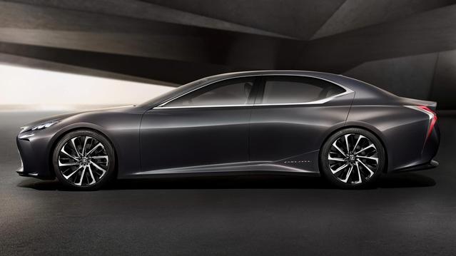 Lexus : la nouvelle grande berline LS dévoilée en 2017 ?