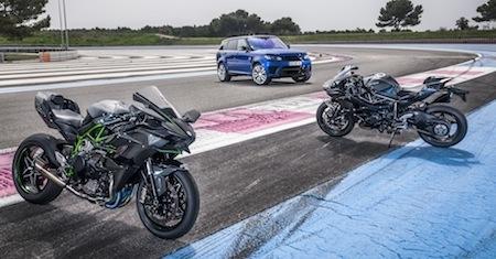 Partenariat marketing entre Kawasaki France et Land Rover France