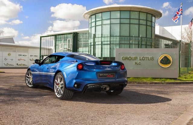Lotus Evora 400 Hethel Edition : en hommage aux 50 ans de l'usine