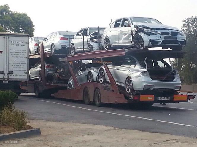Vision d'horreur ? Les BMW M3 du film Mission Impossible