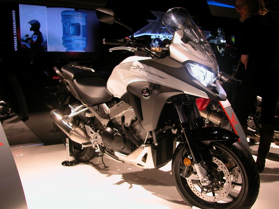 En direct de l'EICMA : Honda 1200 Crosstourer
