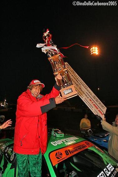 Kazama, champion D1 2005
