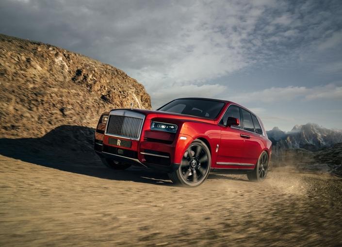 Rolls Royce dévoile son SUV Cullinan