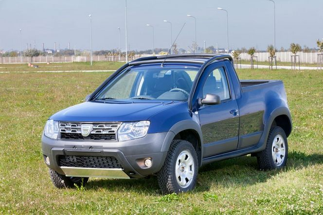 nouveau dacia duster pick up une s rie limit e et sp ciale. Black Bedroom Furniture Sets. Home Design Ideas