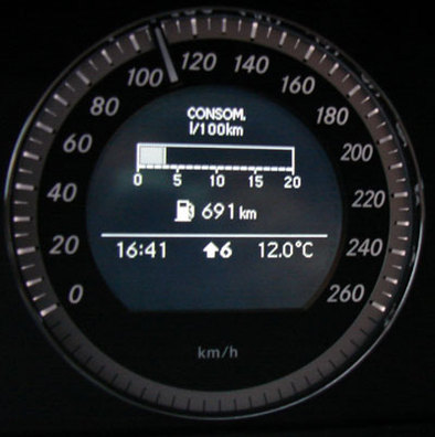 Essai - Paris-Brest en Mercedes C200 CDI Blue efficiency