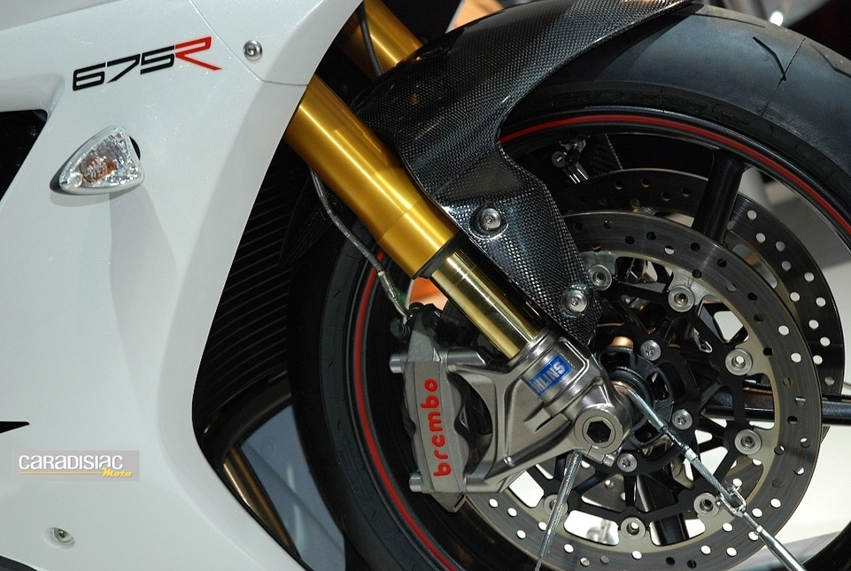 Salon de Milan 2010, en direct : Triumph Daytona 675R