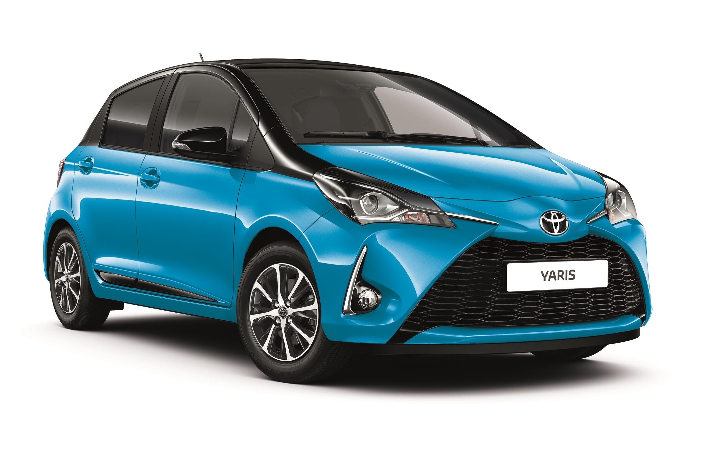 toyota yaris une nouvelle s rie sp ciale cyan. Black Bedroom Furniture Sets. Home Design Ideas