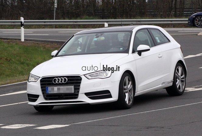 Surprise : la future Audi S3 sur le Nürburgring