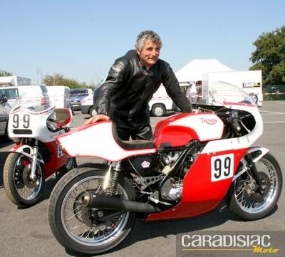 Interview Jean-Pierre Piet, vice-champion de France Motos Anciennes catégorie 750cc « Classic ».