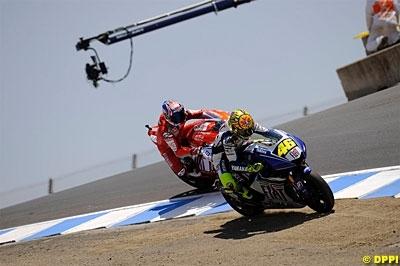 "Moto GP - Stoner: ""Laguna Seca 2008 a été une course injuste"""