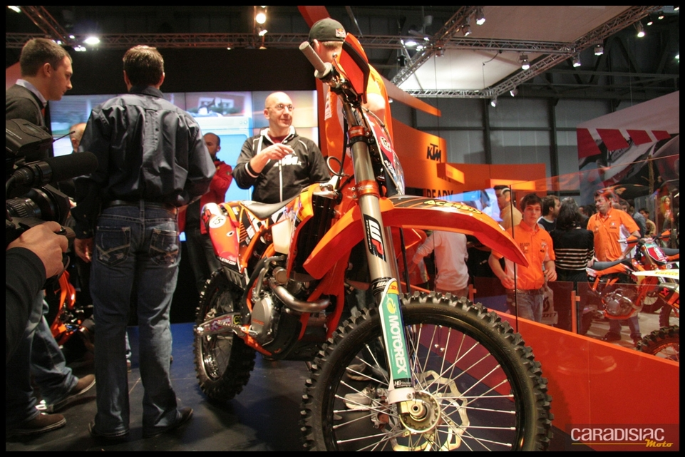 Salon de Milan 2010 en direct : KTM 350 EXC-F Factory