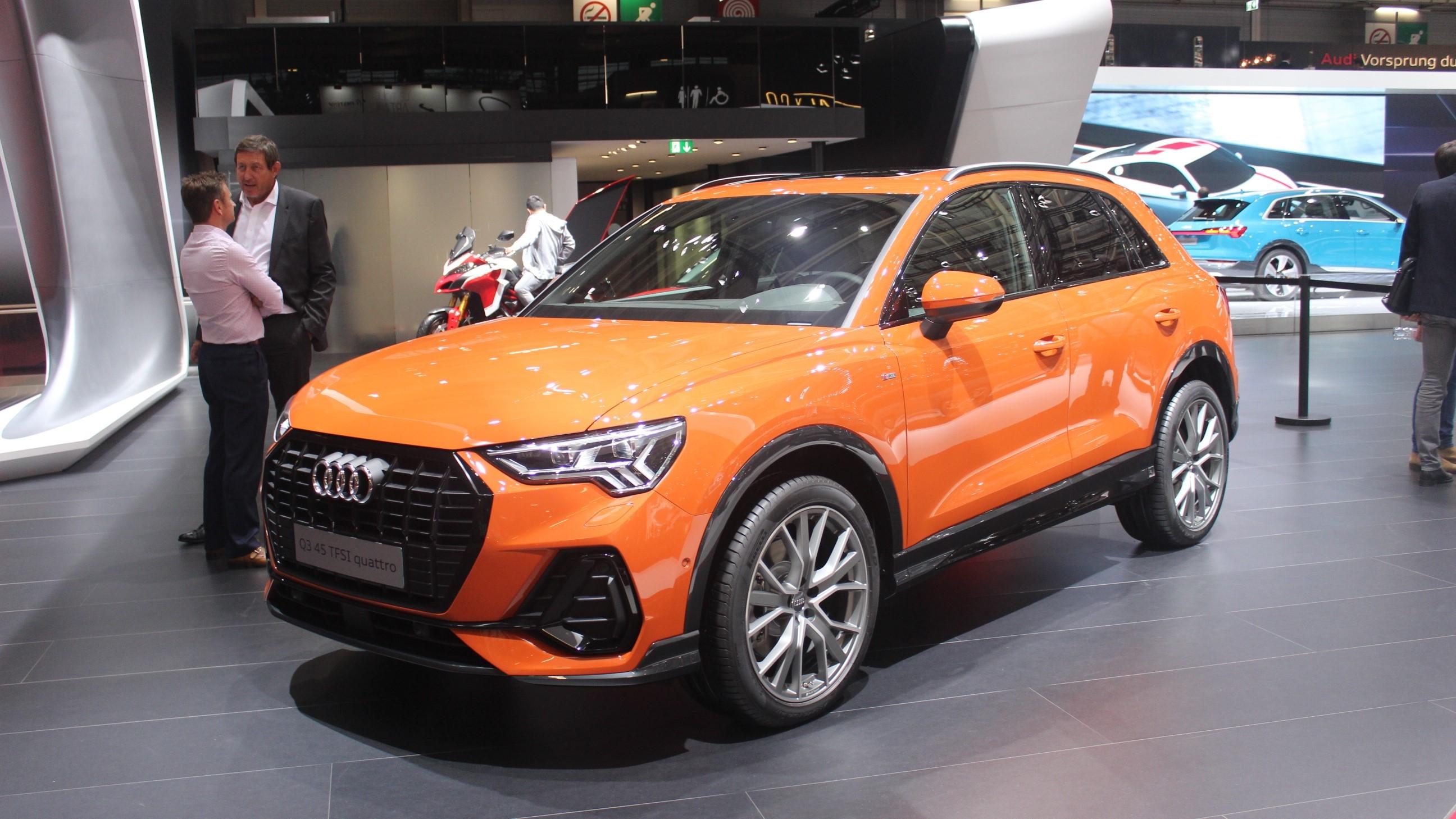 Audi Q3 2018 Retour Aux Affaires Vidéo En Direct Du Mondial De