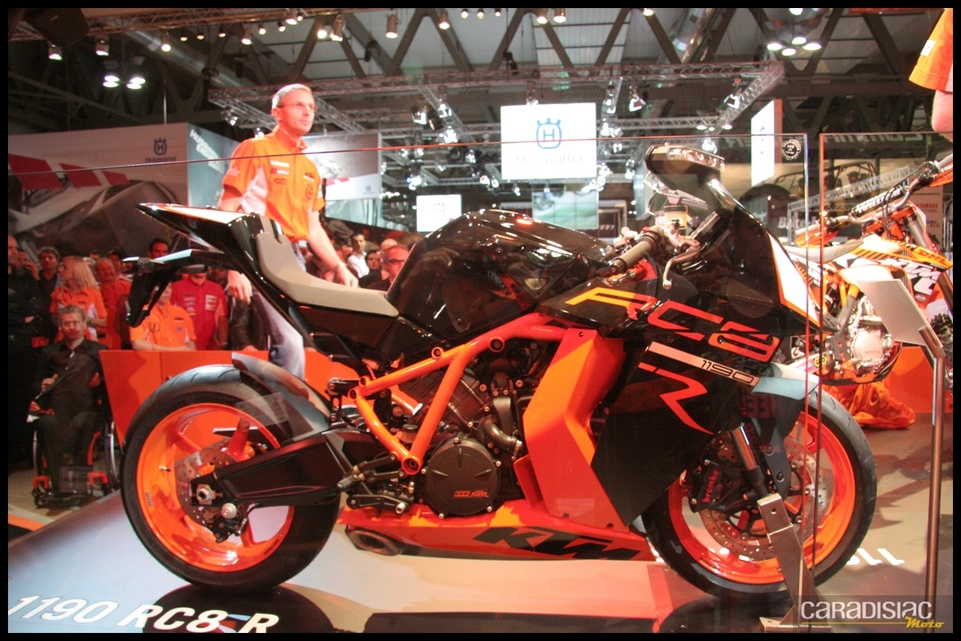 Salon de Milan 2010 en direct : KTM RC8 1190 R, Rally 450 et l'Adventure