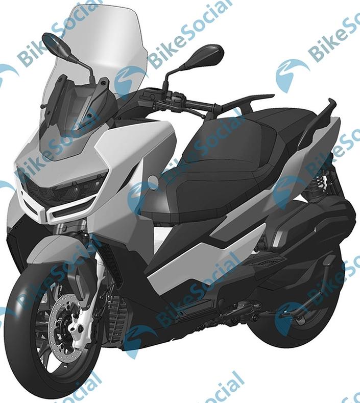 Nouveauté - BMW : une nouvelle version du scooter C 400 en approche