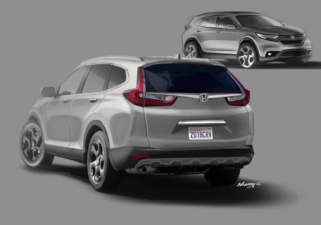 Futur Honda CR-V : comme ça ?