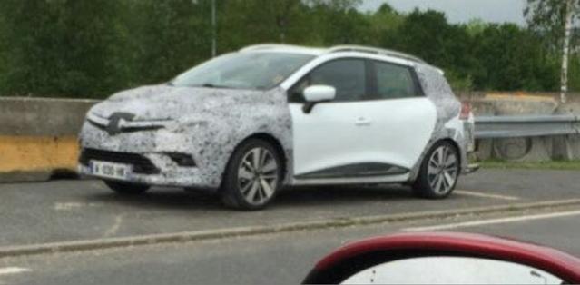 Surprise : premier aperçu de la Renault Clio restylée