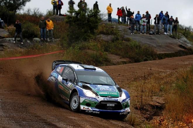 WRC Argentine Jour 1 : la malédiction Ford replace Loeb en tête mais Hirvonen résiste
