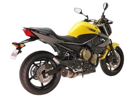 Devil propose une ligne complète Master pour la Yamaha XJ6