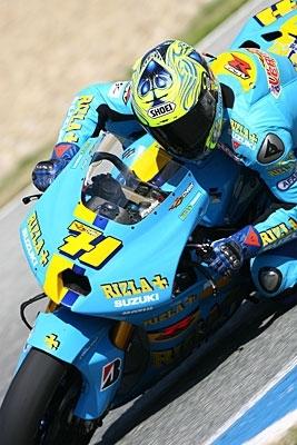 Moto GP: L'étoile de Chris s'élève.