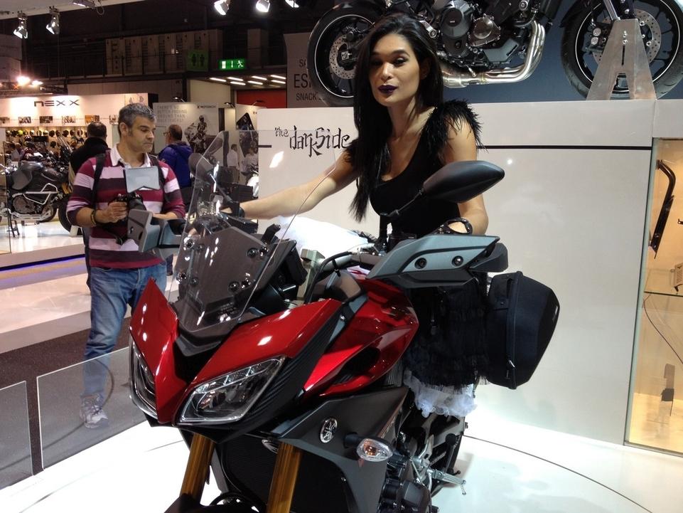 En direct de l'EICMA – Yamaha: la relève de la TDM s'appelle MT-09 Tracer
