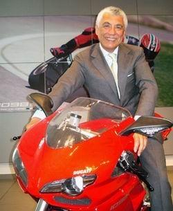 Ducati: Le nouveau boss au blog et au Mugello.
