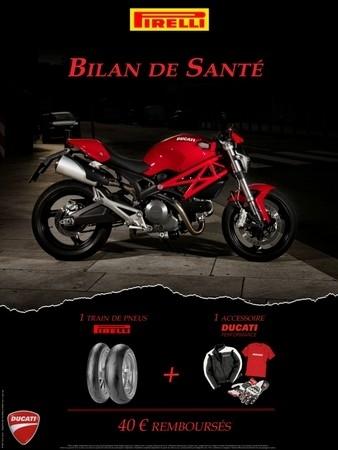 Remise en forme à l'italienne : Pirelli et Ducati s'associent.