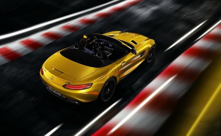 Mercedes-AMG dévoile la GT S Roadster
