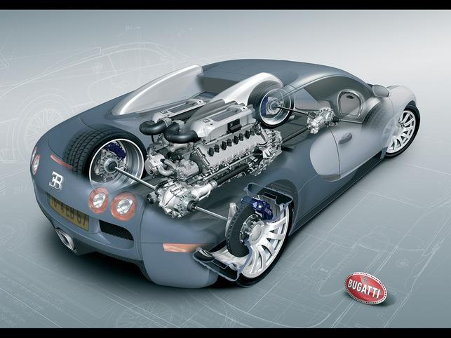 Retour sur la boîte de vitesses de la Bugatti Veyron