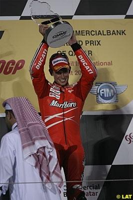Moto GP - Qatar: Stoner a profité du jour supplémentaire